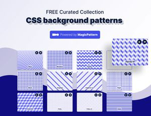 collection d'arrière-plan proposés sur CSS Background Patterns