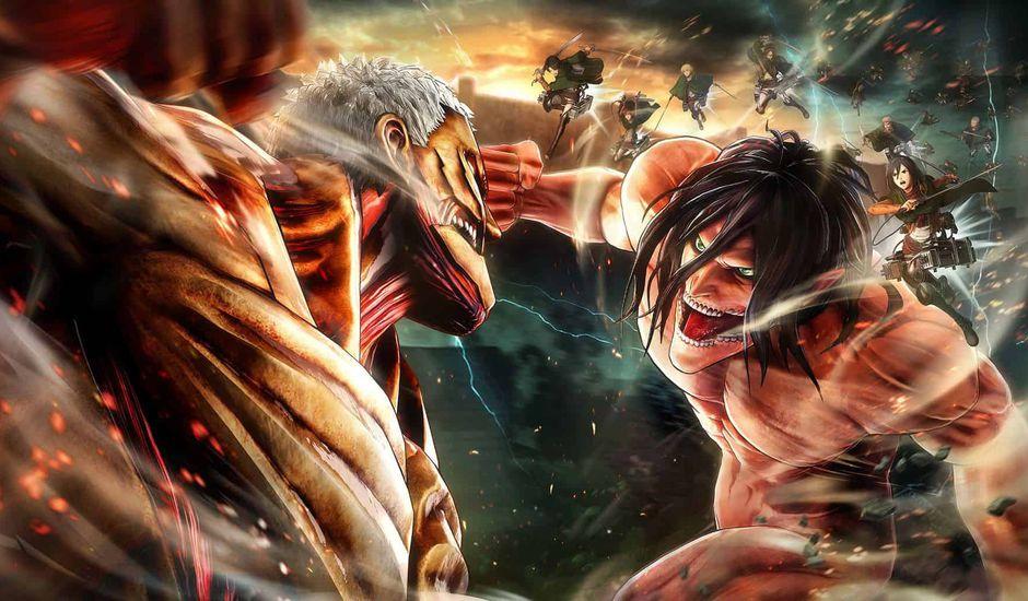 Nouvelle extension sur le jeu Attack on Titan 2