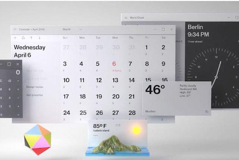Fluent Design Microsoft
