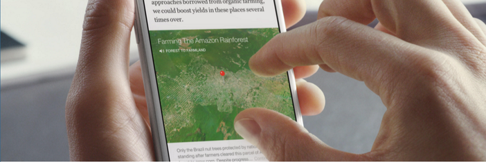 facebook instant articles map