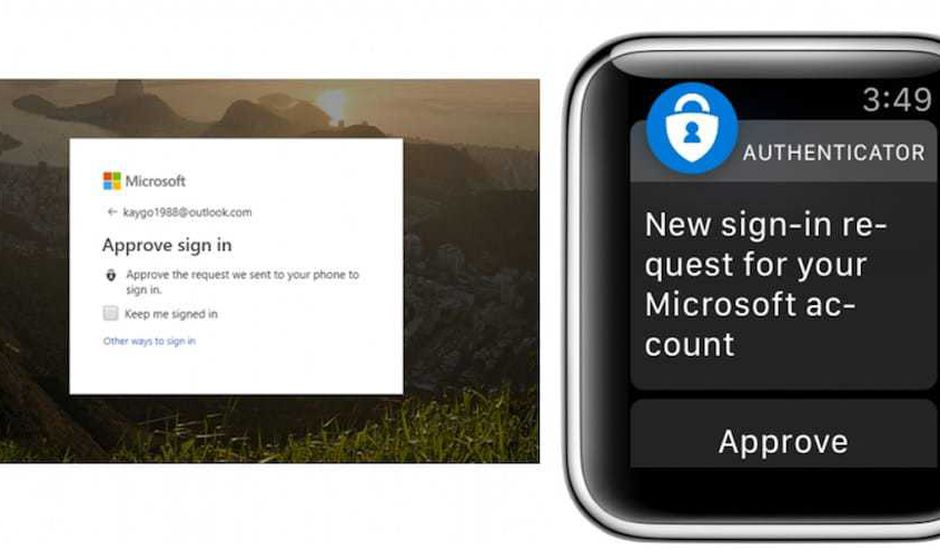 Microsoft Authenticator Apple Watch