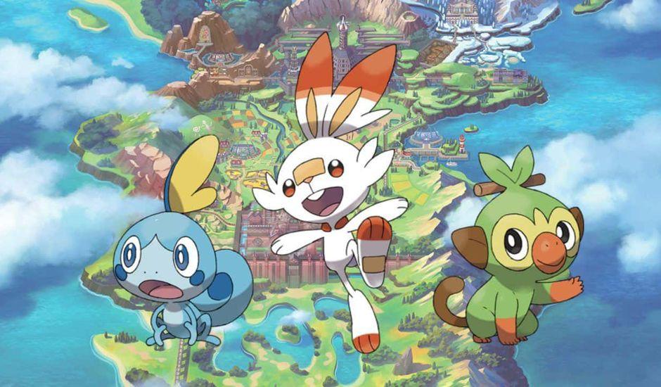 Pokémon Épée et Bouclier sur Switch
