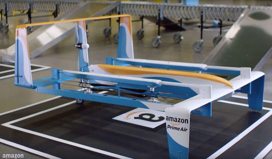 Amazon Prime Air livraison