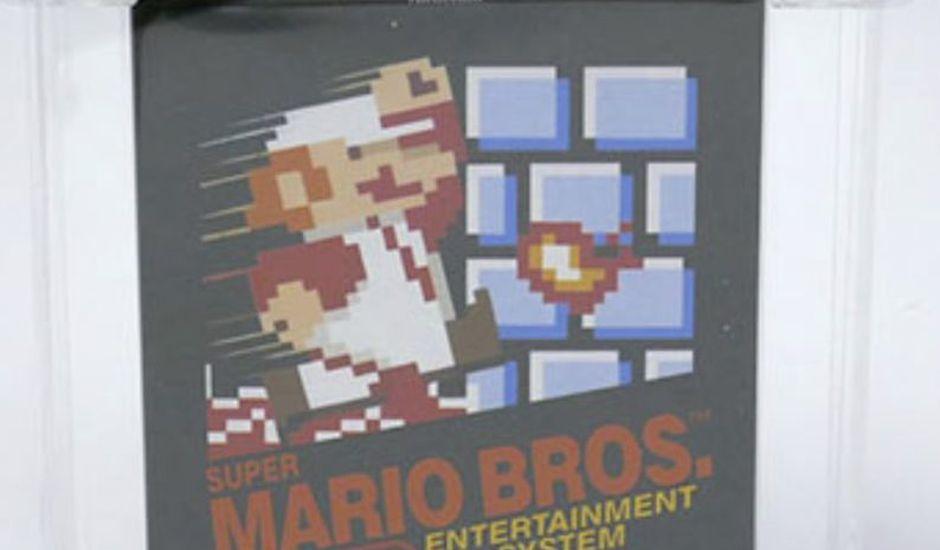 Une version ancienne de Super Mario Bros NES vendue 100 150 $