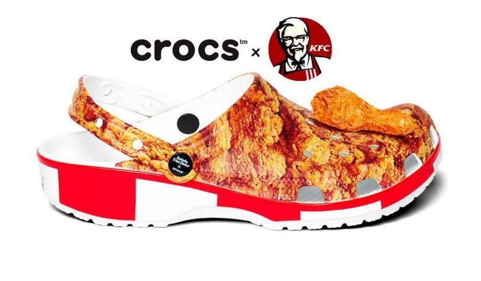 une collaboration entre crocs et kfc arrive !