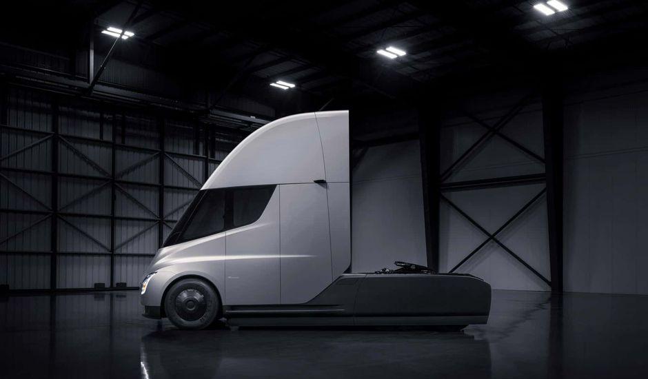 UPS camion Tesla