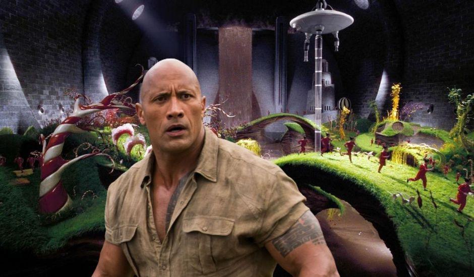 """Dwayne """"The Rock"""" Johnson dans Charlie et la Chocolaterie"""
