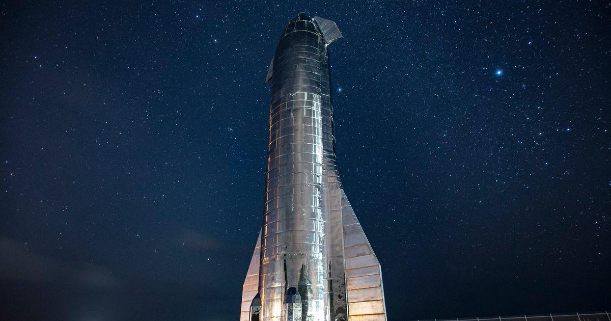 Aperçu de l'étage supérieur de Starship.