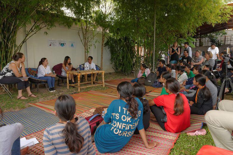 Espace coworking Angkor Hub