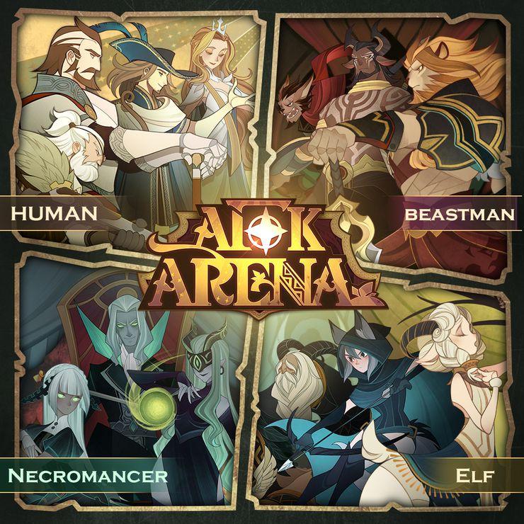 afk arena jeu mobile rpg lilith games