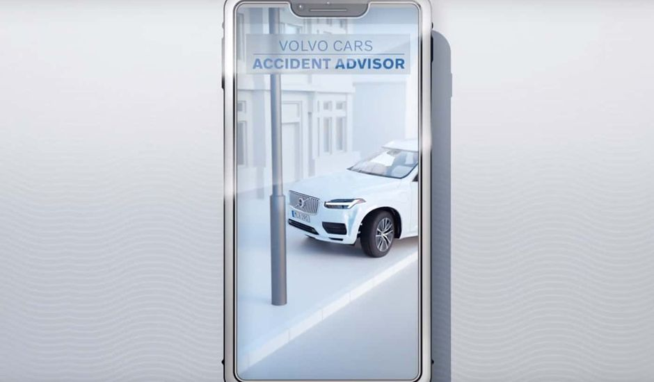 Application Car Accident Advisor par Volvo
