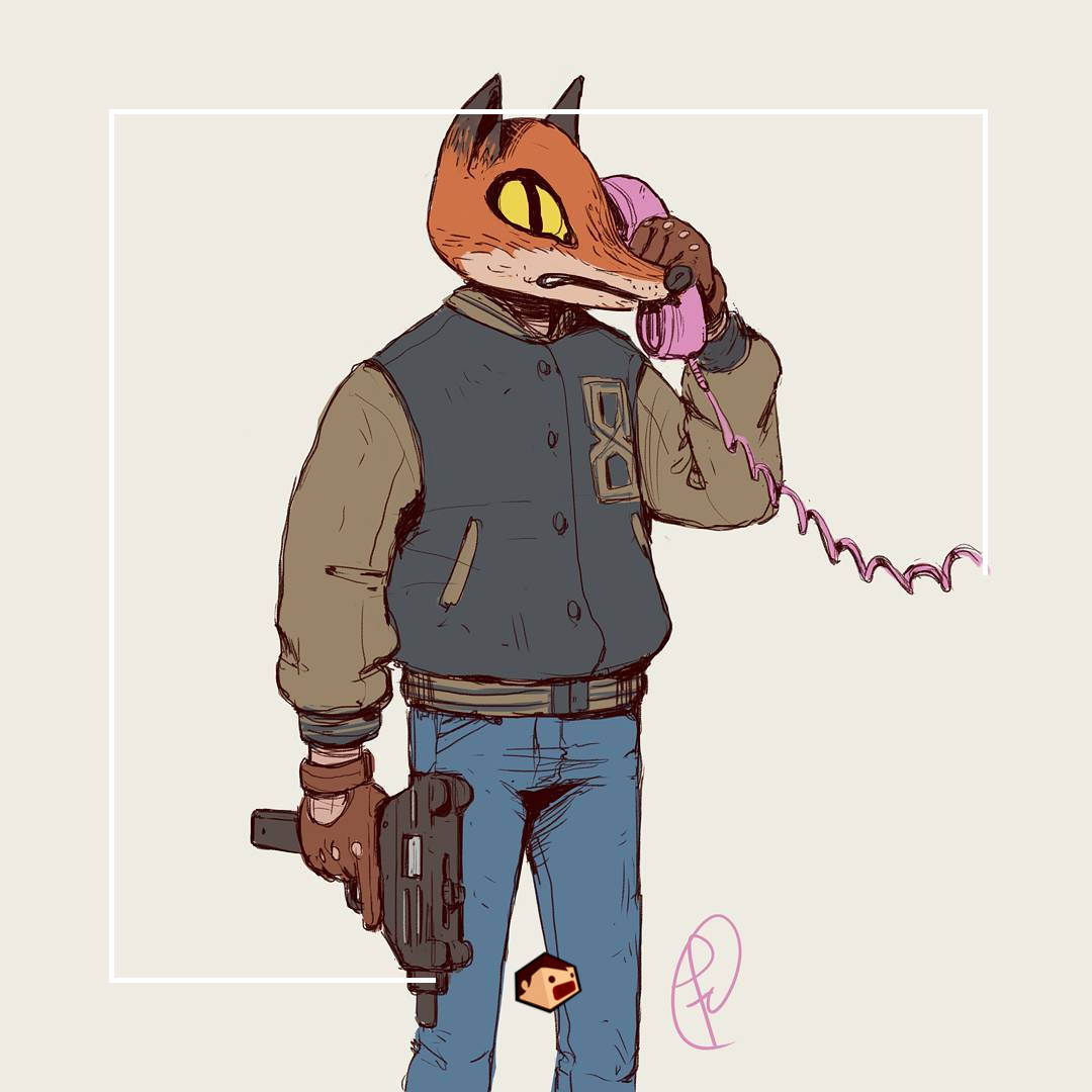 hotline miami artwork fernando correa