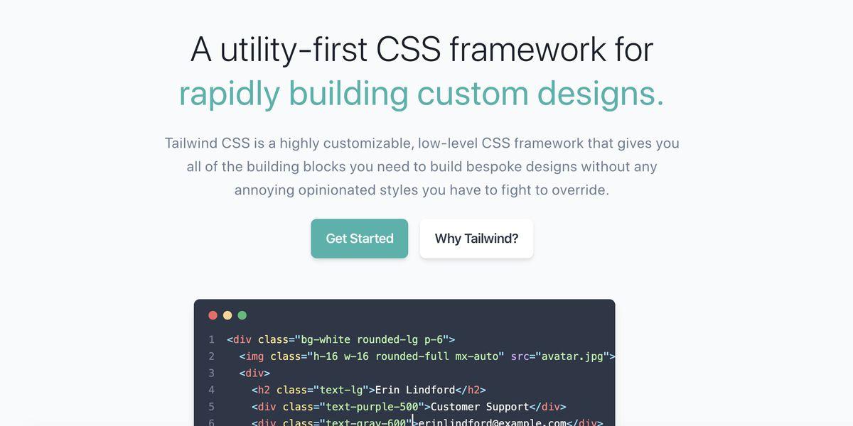 Tailwind CSS : LE framework CSS pour créer des designs vraiment personnalisés