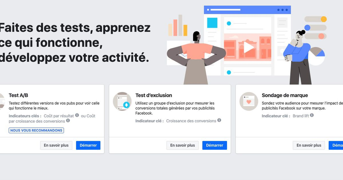 Facebook présente Experiments, un nouvel outil de test de campagne marketing