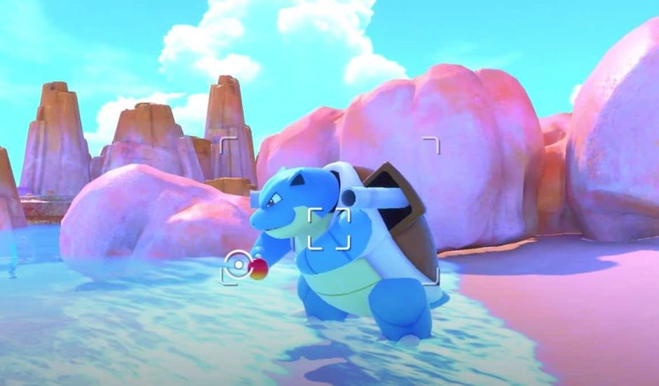 Tortank dans le jeu New Pokémon Snap