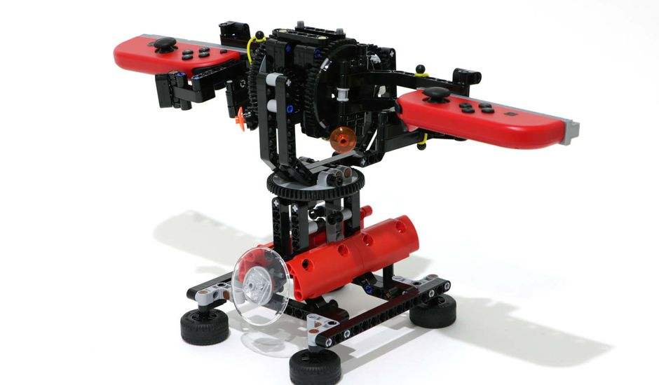 Un designer a mélangé LEGO et Nintendo Labo !