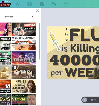 picmaker.io est un outil de création de thumbnails sur YouTube