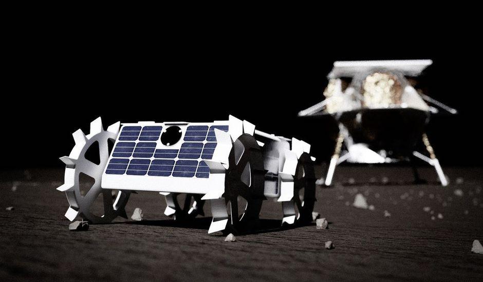 Petit rover Lune
