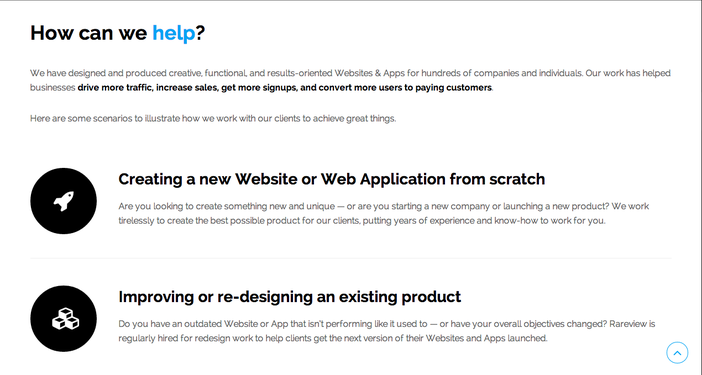 webdesign non-essential design