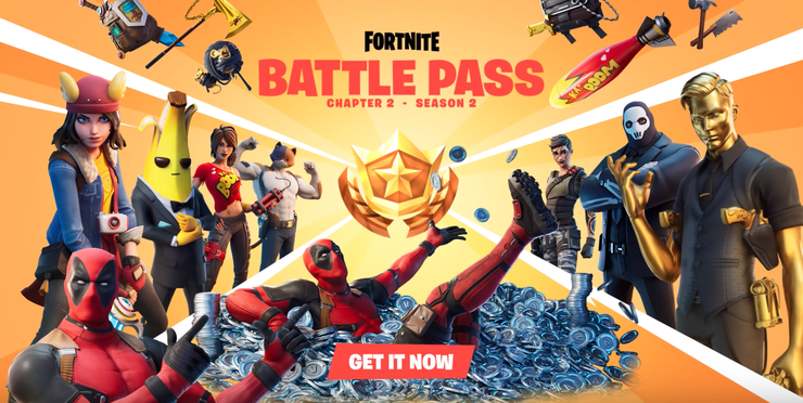battle pass fortnite deadpool marvel saison 2 chapitre 2 epic games