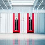 L'intérieur d'un entrepôt possédant la technologie d'AutoStore.