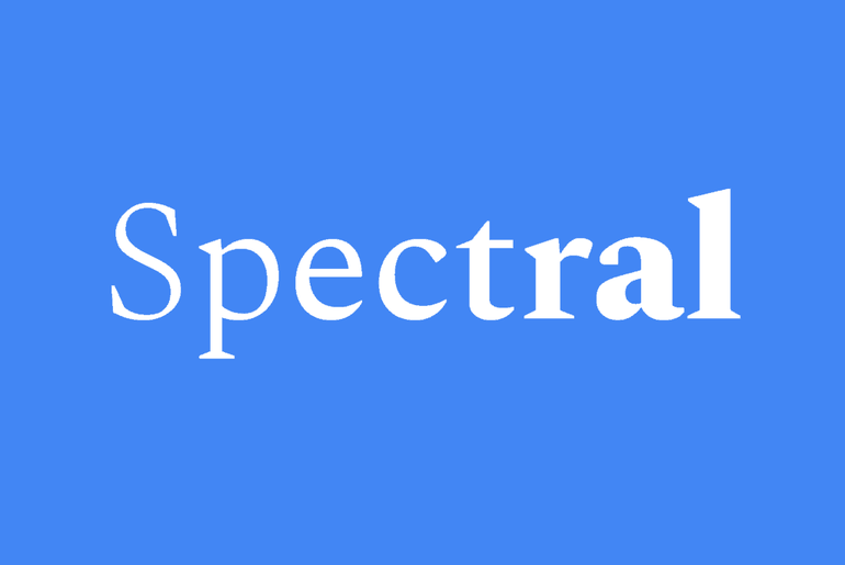 Typographie Spectral