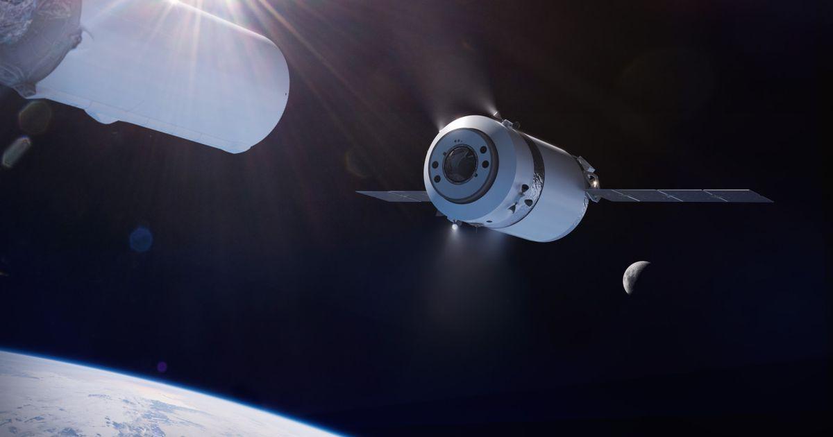 """Dragon XL : le nouveau vaisseau spatial de SpaceX livrera la future """"station lunaire"""""""