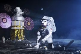 La NASA présente les nouvelles combinaisons.