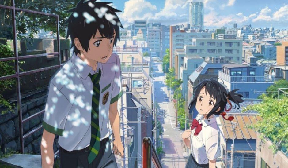 Taki et Mitsuha, personnages principaux de Your Name