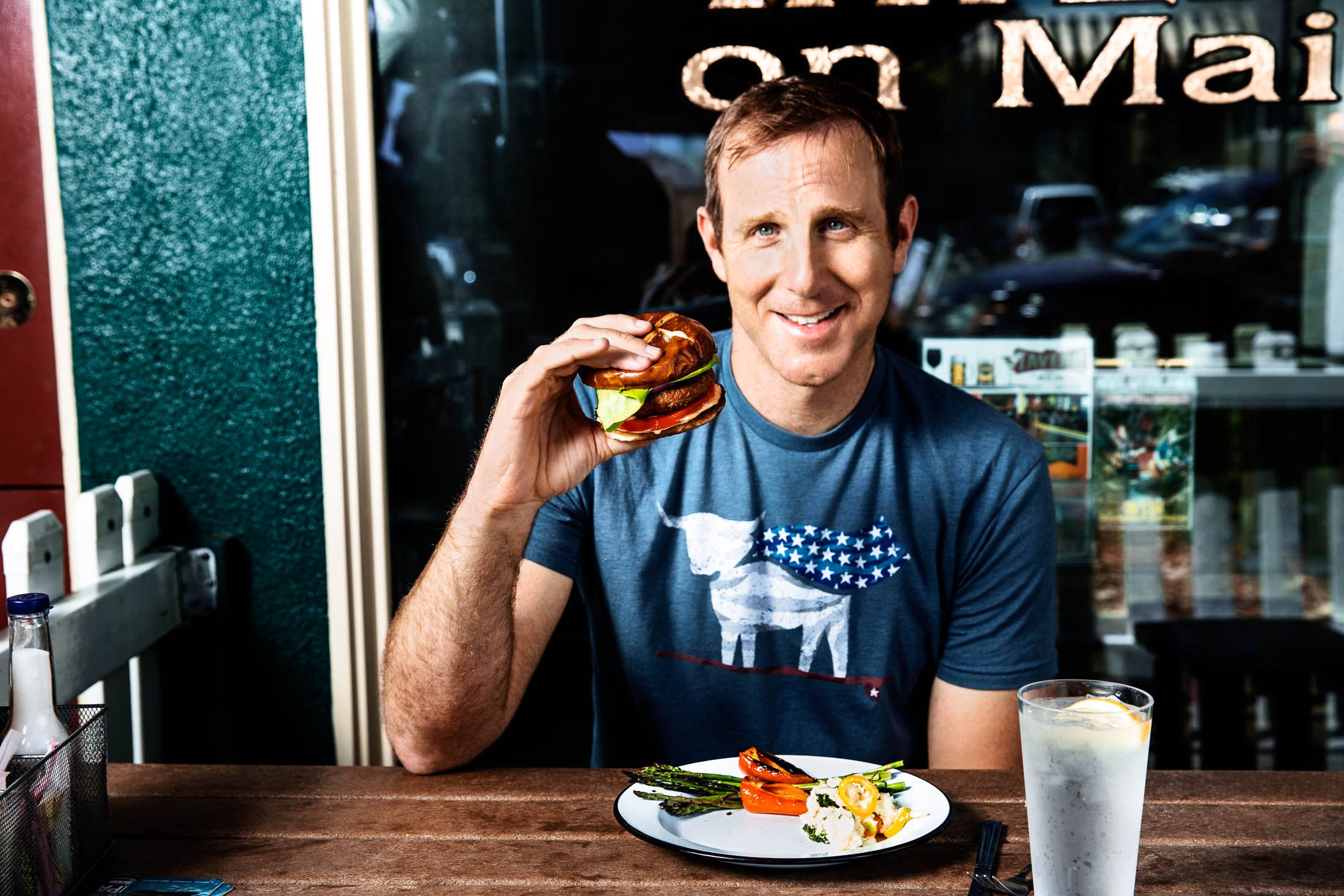 Photo d'Ethan Brown, CEO de Beyond Meat.
