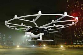 Le premier modèle commercialisable de Volocopter a été dévoilé.