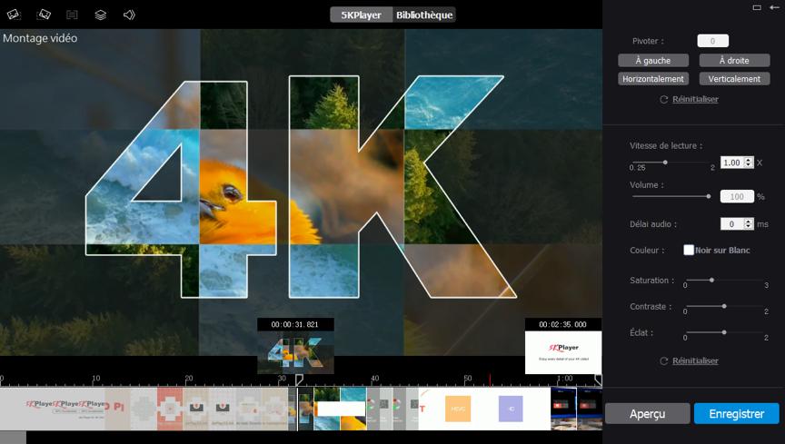 screenshot logiciel convertisseur video