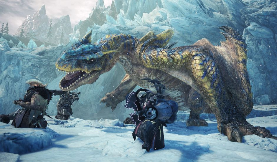 Béta test Monster Hunter World : Iceborne
