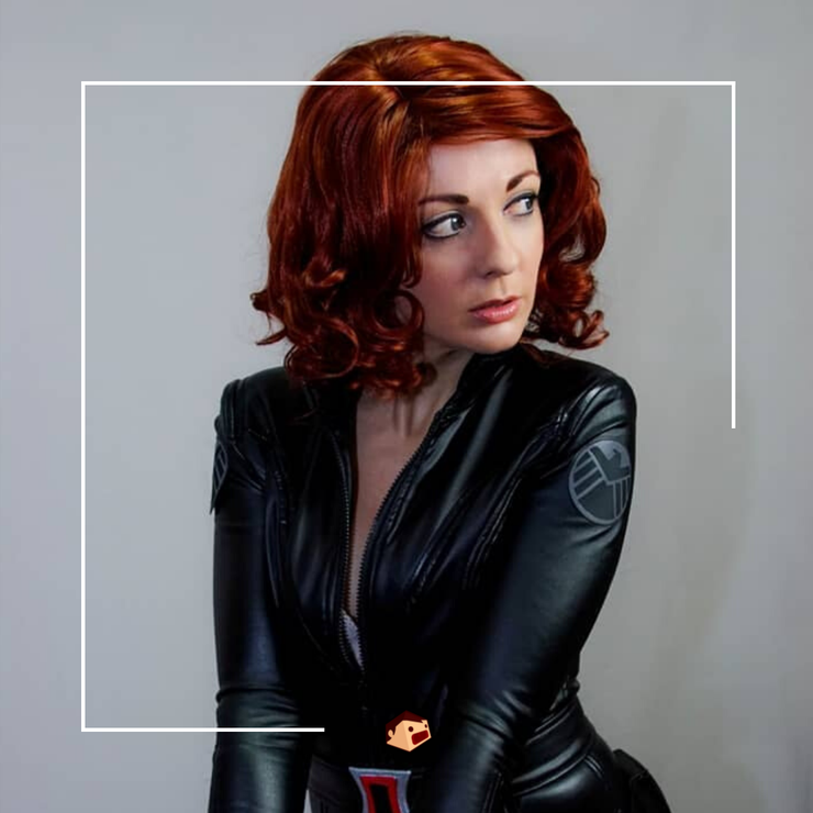 black widow deedee cosplay marvel