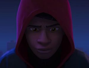 Miles Morales dans Spider-Man Into The Spider-Verse