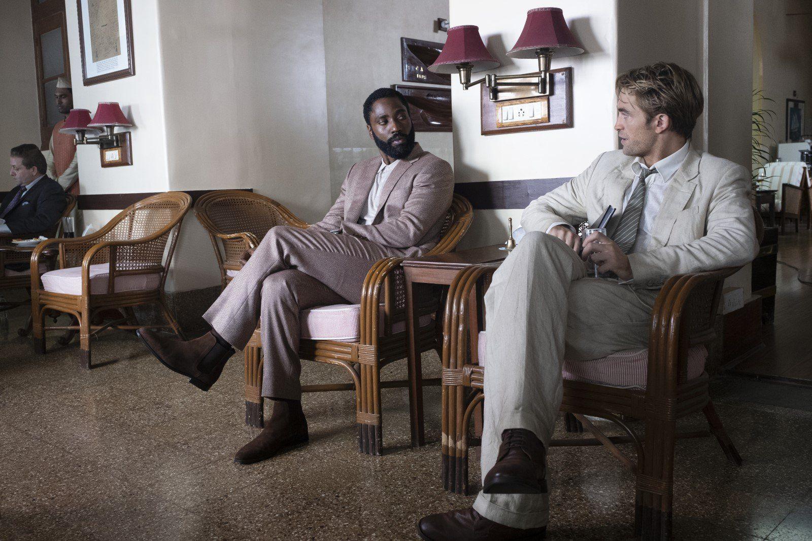 John David Washington & Robert Pattinson