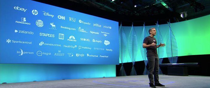 Voici une liste d'entreprises présentée par Facebook au F8 qui vont être présentent sur Messenger Platform.