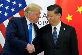 Donald Trump et Xi Jinping au G20