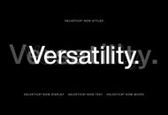 Helvetica Now, adaptée aux écrans