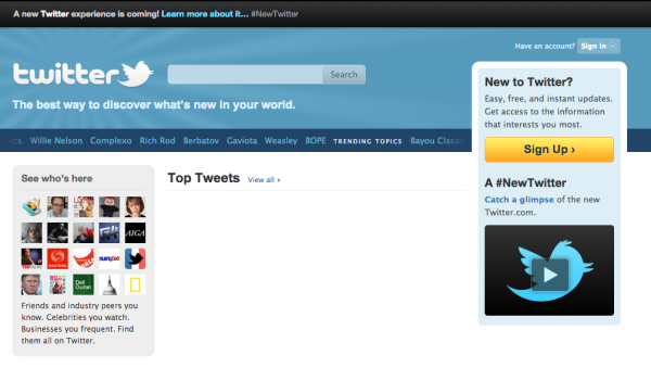 twitter novembre 2010