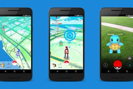 Pokemon Go images gameplay