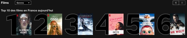 netflix france top 10 films