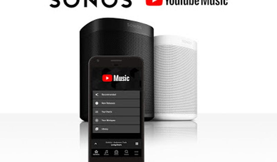 Le nouveau partenariat entre Sonos et YouTube vient d'être annoncé.