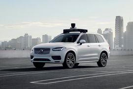 Volvo Uber taxi autonomes