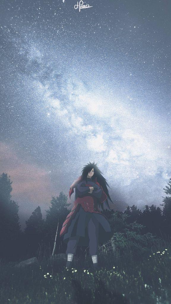 Fond d'écran de Madara dans Naruto Shippuden
