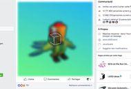 publication 3D Facebook Lego