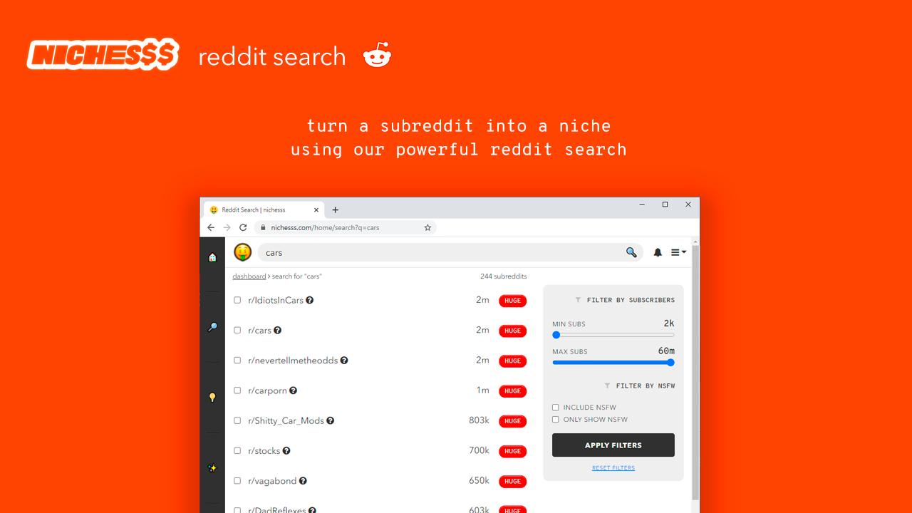 reddit nichesss