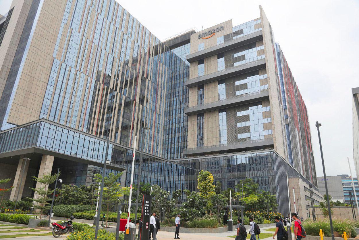 Amazon annonce l'ouverture d'un énorme campus en Inde