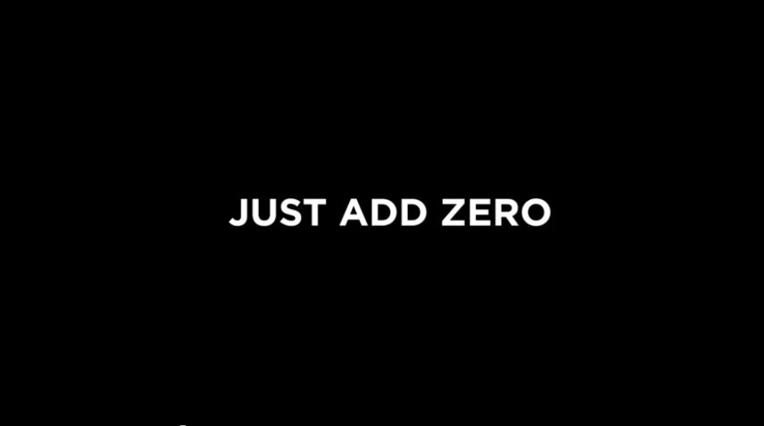 coca cola zero - just add zero