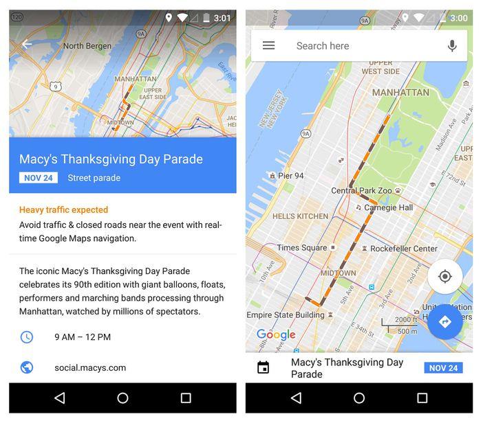 google maps trafic temps réel